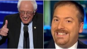 Chuck Todd Interviews 'Bank Fraud Bernie'; No Questions About Bank Fraud Scandal