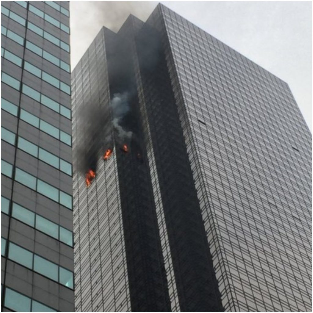 President Trump Says Fire at Trump Tower has Been Put Out