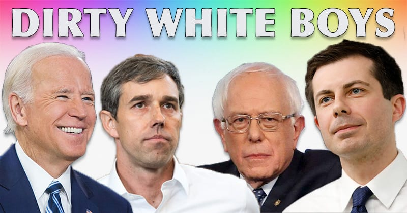 Watch: Self-Loathing Democrats Triggered Top Candidates Are White Males