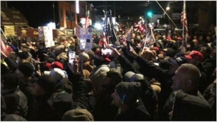 Massive Peaceful Protest In Support of Democrat-Persecuted Bar Mac's Public House in Staten Island, NY: 'We are Being Subjugated'