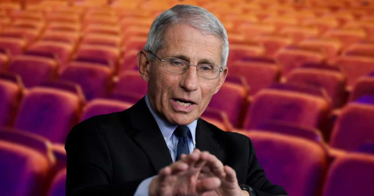 Flip-Flopping Fascist Fear Fuhrer Fauci's Documentary Bombed So Badly, Nobody Is Releasing the Numbers